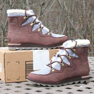 SOREL SNEAKCHIC ALPINE Woman's Outdoor Boot WP NEW